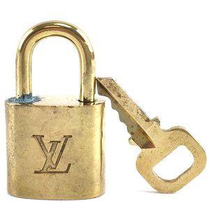 Louis Vuitton Gold Keepall Speedy Lock Key Set#304